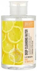 Глубоко очищающая вода с экстрактом лимона Jigott