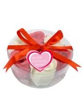 Набор из 7 мыльных роз в круглой блистерной упаковке Liss Kroully