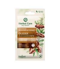Питательная маска для лица для сухой кожи Аргановое масло Herbal Care Farmona