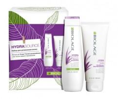 Набор 2022 для увлажнения волос (Шампунь 250мл + Кондиционер 200мл) Matrix Biolage Hydrasourse