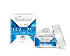Подтягивающий крем 50+ дневной/ночной NEURO HIALURON BIELENDA