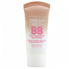Тональный BB-крем для лица Dream Fresh Мгновенное сияние 8в1 Maybelline