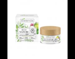 Крем для лица детокс и матирование ECO NATURE Кокосовая вода + Зеленый чай + Лемонграсс BIELENDA