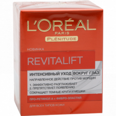 Крем для кожи вокруг глаз L'Oreal Dermo Expertise Revitalift Лифтинг-уход