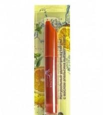 Карандаш натуральный удалитель кутикулы с маслом апельсина и витаминами (на подложке) оранжевый Триумф Красоты
