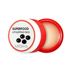 Маска для губ MISSHA Super Food Black Bean Lip Sleeping Pack