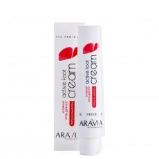 Активный крем для ног с камфарой и перцем Active Foot Cream, 100мл ARAVIA Professional