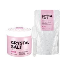 Масло-скраб для тела MISSHA Crystal Salt Body Oil Scrub (Rose)