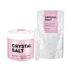Масло-скраб для тела MISSHA Crystal Salt Body Oil Scrub (Rose)