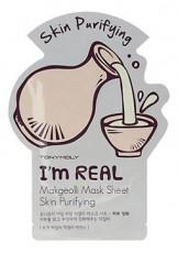 Тканевая маска для лица с макколи TonyMoly I'm Real Makgeolli Mask Sheet (3шт)