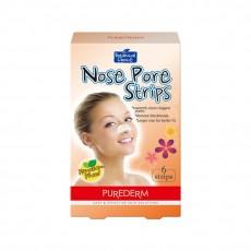 Очищающие поры полоски для носа Botanical Choice Nose Pore Strips PUREDERM