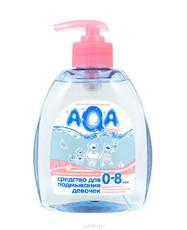 Средство для подмывания девочек AQA baby