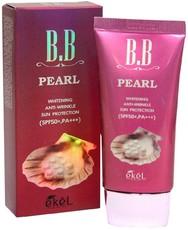 BB крем с жемчугом EKEL