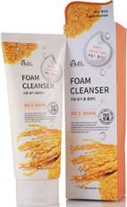 Пенка для умывания с экстрактом коричневого риса EKEL Rice Bran Foam Cleanser