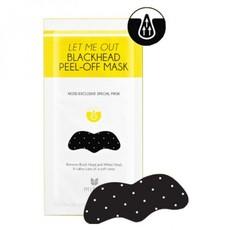 Стикер от черных точек MIZON Let Me Out Blackhead Peel-Off Mask (5шт)