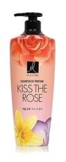 Парфюмированный шампунь для всех типов волос Elastin Perfume Kiss the rose PERIOE