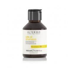 Шампунь для всех типов волос ALTER EGO ITALY Silk Oil Shampoo