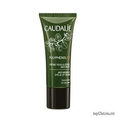 Крем для глаз и губ Polyphenol Creme Yeux & Levres Anti-Rides «Caudalie»