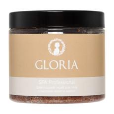 Скраб шоколадный для тела с маслами какао и каритэ Gloria