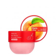 Многофункциональный крем-масло Персик, 300 мл Farmstay Real Peach All-In-One Cream