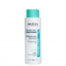 Бальзам-кондиционер для придания объема тонким и склонным к жирности волосам Volume Save Conditioner, 400мл ARAVIA Professional