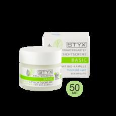Крем для сухой кожи БИО-РОМАШКА Krautergarten Basic Gesichtscreme mit Bio-Kamille STYX Naturcosmetic