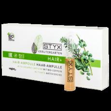 Ампулы для волос с БИО-КОФЕИН Krautergarten Hair-Ampulle Bio-Coffein STYX Naturcosmetic