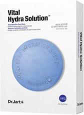 Набо масок для лица Dr.Jart+ Vital Hydra Solution Увлажняющая с гиалуроном, 5 шт