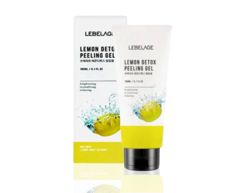 Гель-скатка LEMON DETOX PEELING GEL с экстрактом лимона LEBELAGE
