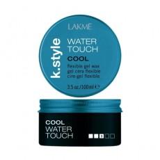 Гель-воск эластичной фиксации, с эффектом мокрых волос Water-Touch Flexible Gel Wax LAKMÉ K.STYLE COOL