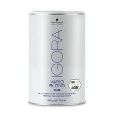 """Голубой порошок для обесцвечиввания волос не образующий пыли """"VARIO BLOND PLUS"""" IGORA ROYAL Schwarzkopf"""