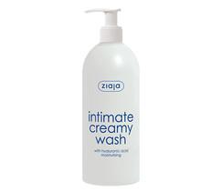 Крем-мыло для интимной гигиены с гиалуроновой кислотой «Ziaja»