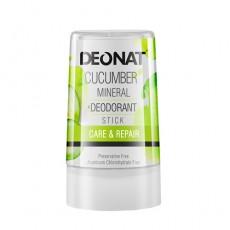 Дезодорант-кристалл стик с экстрактом огурца, 40 г DEONAT