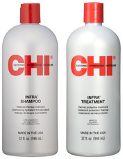 Набор CHI INFRA шампунь 946мл+кондиционер 946мл (без коробки)