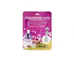 Тканевая маска для лица HYALURONIC ACID с гиалуроновой кислотой увлажняющая EKEL