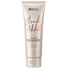 Шампунь для холодных оттенков блонд Indola Blond Addict InstaCool Shampoo
