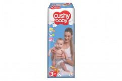 Подгузники Cushy Baby Jumbo 3 Midi (4-9 кг) 70 шт