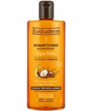 Питательный шампунь с Аргановым маслом и маслом Ши EVOLUDERM NOURISHING SHAMPOO Argan Oil & Shea