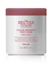 Насыщенная маска для защиты цвета окрашенных жестких волос THE NECTAR COLOR / COLOR PRESERVE DEEP MASK thick hair NOOK
