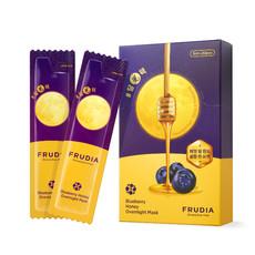 Ночная маска для лица с черникой и медом Blueberry Honey Overnight Mask FRUDIA