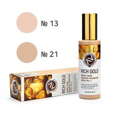 Крем тональный Rich Gold Double Wear Radiance Foundation SPF50+ PA+++ ENOUGH