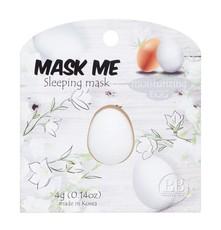 Маска ночная увлажняющая Яичная Mask Me (2шт) BEAUTY BAR