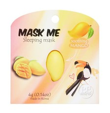 Маска ночная успокаивающая Манго Mask Me (2шт) BEAUTY BAR