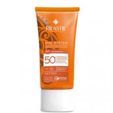 Cолнцезащитная эмульсия SPF 50+ для татуированной кожи с Pro- Dna Complex, 75 мл Rilastil SUN SYSTEM PPT