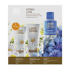 Набор подарочный Сила полевых цветов herbal care LIBREDERM