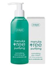 """Дневной крем для лица """"Дерево мануки"""" Manuka Tree, 50 мл  + Гель для умывания """"Дерево мануки"""" Manuka Tree, 200 мл*(в подарок) Ziaja"""