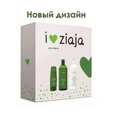 """Набор подарочный """"Натуральная Олива"""" (лосьон для тела, крем для рук, гель для душа) Ziaja"""