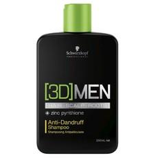 Шампунь против перхоти Schwarzkopf 3D Men Anti-Dandruff Shampoo Schwarzkopf