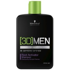 Шампунь активатор роста волос Schwarzkopf 3D Men Root Activator Shampoo Schwarzkopf
