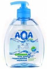 Гель для подмывания малыша (с дозатором) AQA baby